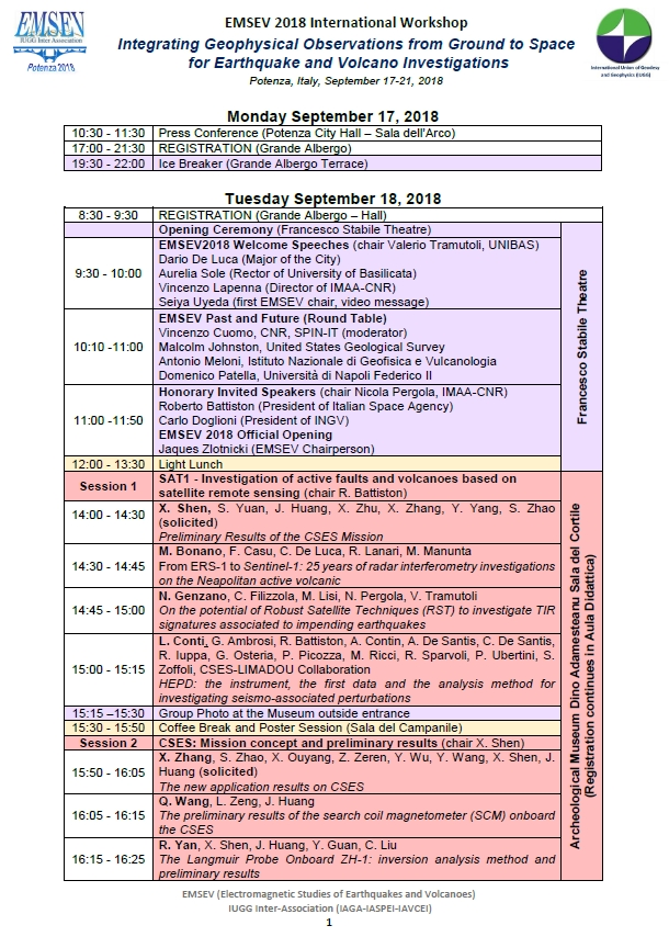EMSEV2018 Final Program