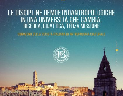 Le Discipline Demoetnoantropologiche in una Università che cambia: ricerca, didattica, terza missione